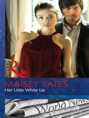 cover image of Her Little White Lie